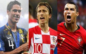 تیم منتخب جام جهانی ۲۰۱۸ از دید مخاطبان گاردین و اسکای اسپورت